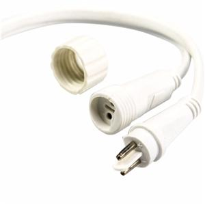 Waterproof Power Wires With F/M Connector