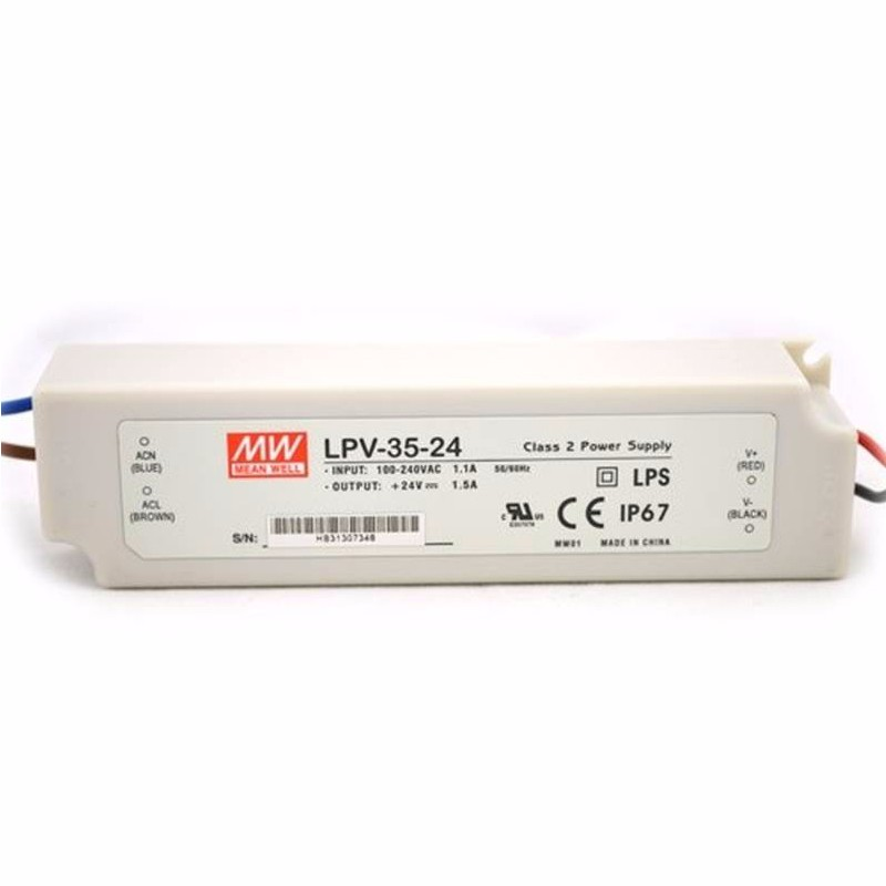 Mean Well LPV Series C.V LED Power Supply 20~150W