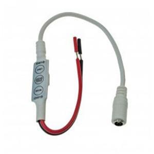 Blinkende og dæmpende styreenhed til enkeltfarve LED Strip