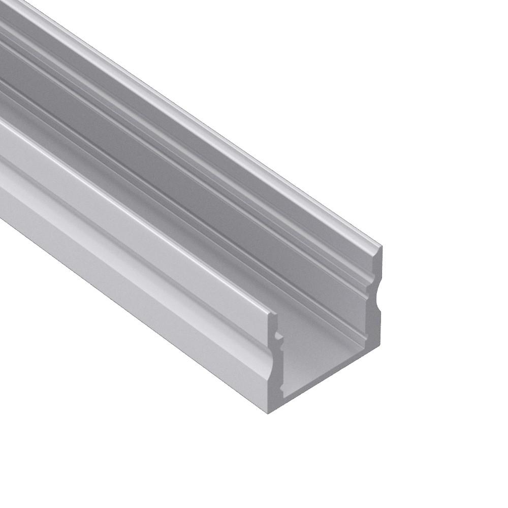AS2 Square Aluminium LED profil til LED Strip 17x15mm