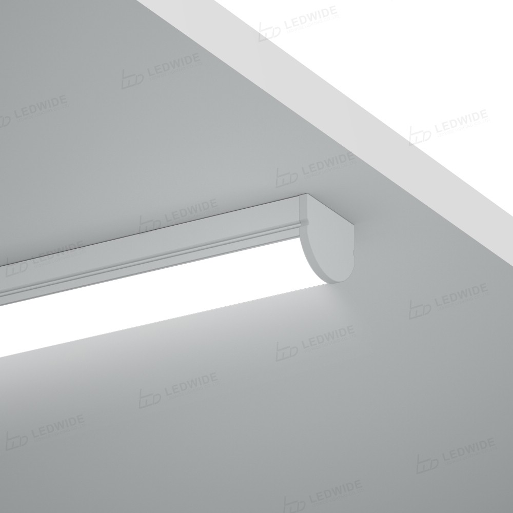 AST1 Dome cover square led profile 17x13.7mm Manufacturers, AST1 Dome cover square led profile 17x13.7mm Factory, Supply AST1 Dome cover square led profile 17x13.7mm
