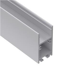 U20 H Shape surface mount led aluminium profile 20x40mm