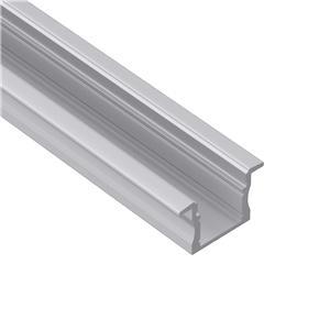 AR2 15mm høj Indbygget aluminiums ledningsprofil 23x15,2 mm