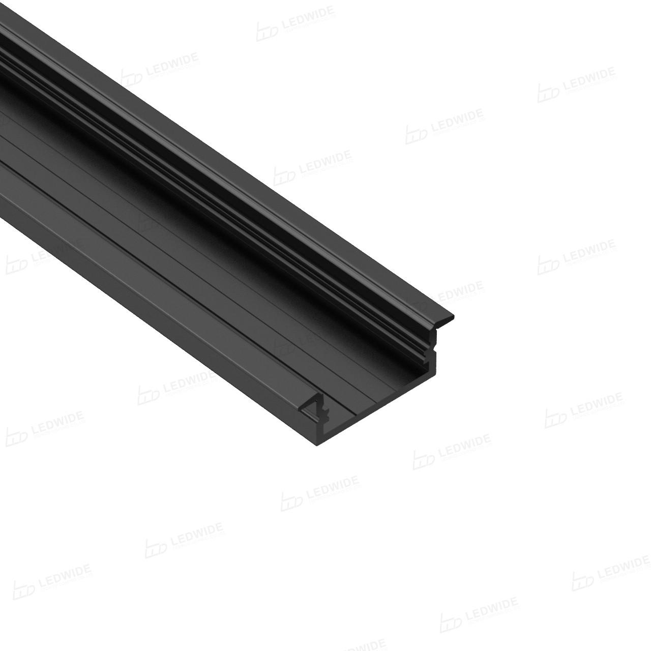 Comprar Perfil y difusor de aluminio AR3 Rebate con cubierta