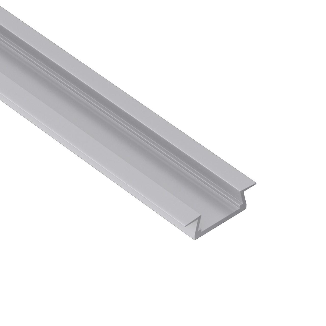 AR5 Supersmal Aluminium Ekstrudering med vinger 22x6mm