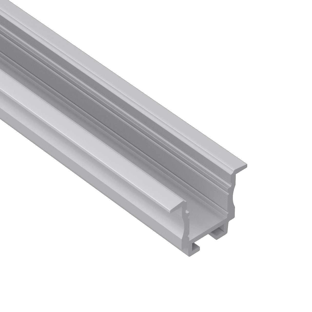 WR2 Wall/ceiling recessed led profile 23x18.6mm