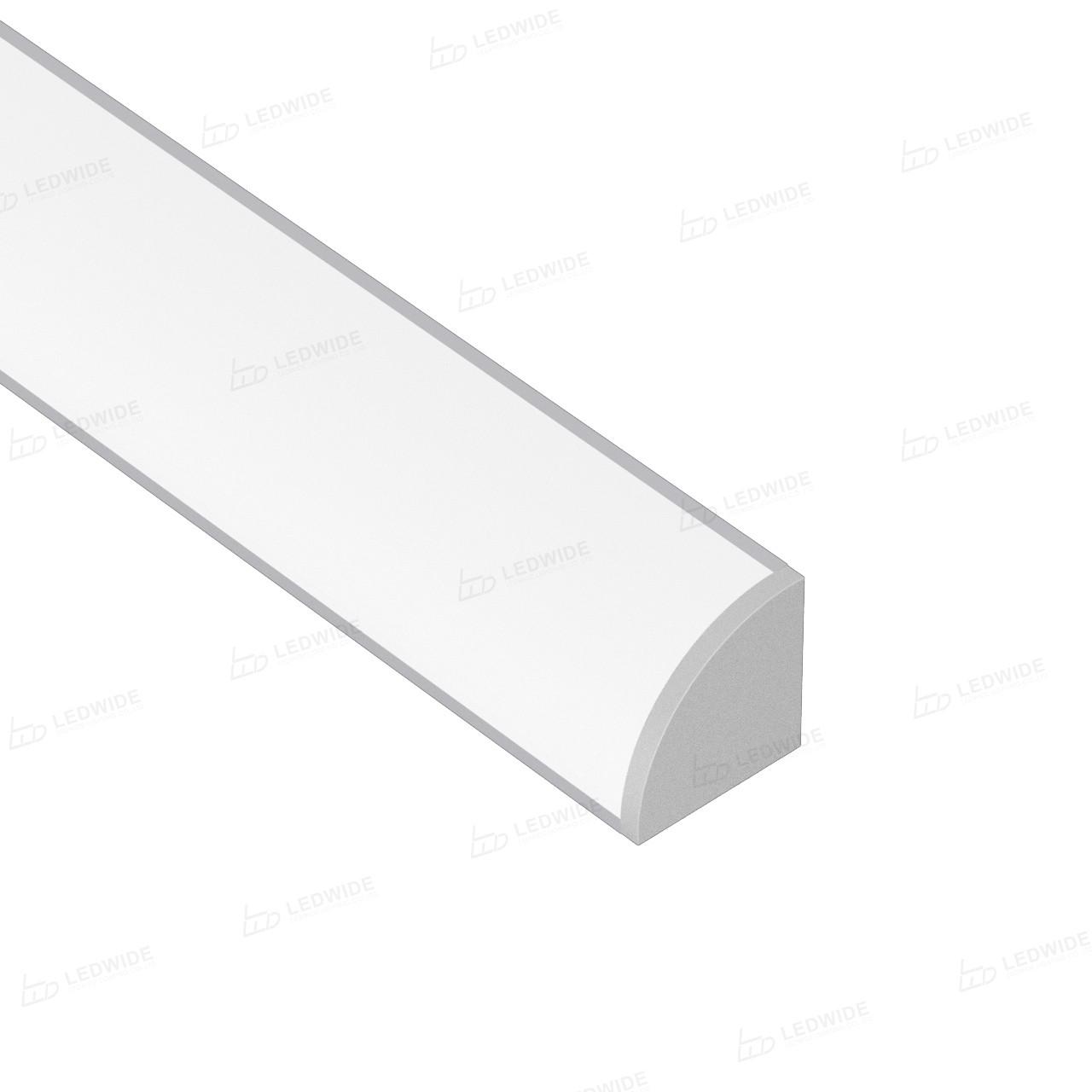 AC2 45˚ Corner Aluminium LED Profile for LED Strip 16x16mm Manufacturers, AC2 45˚ Corner Aluminium LED Profile for LED Strip 16x16mm Factory, Supply AC2 45˚ Corner Aluminium LED Profile for LED Strip 16x16mm