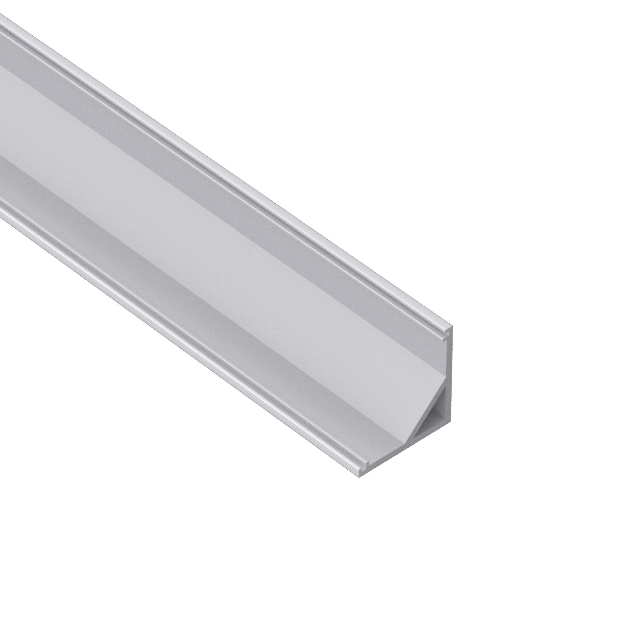 AC4 Bigger 45˚ Corner Aluminium LED Profile for LED Strip 30x30mm