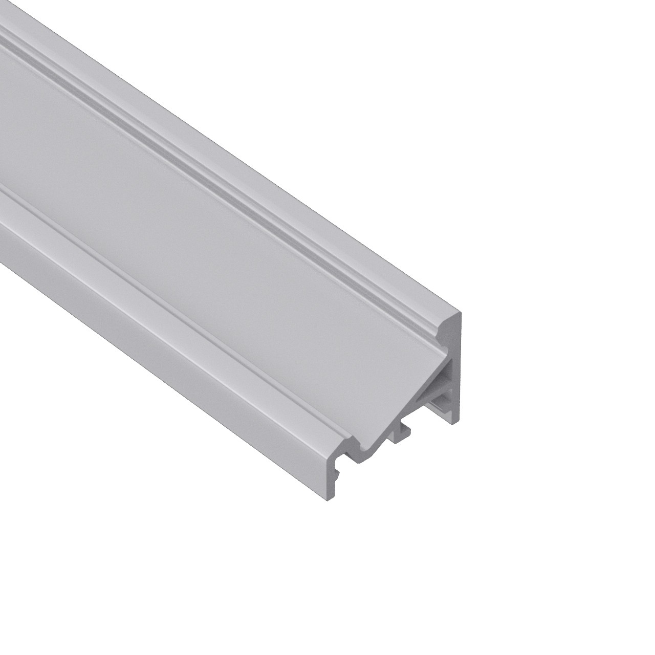 AV2 Corner 30°/60°aluminum surface mounting profile 20x16mm