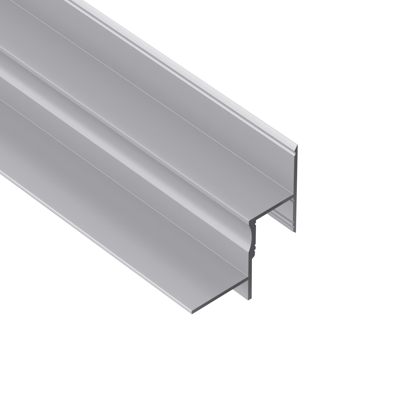 AT7N Recessed Edge LED Profile for LED Strip 55.5x65.5mm