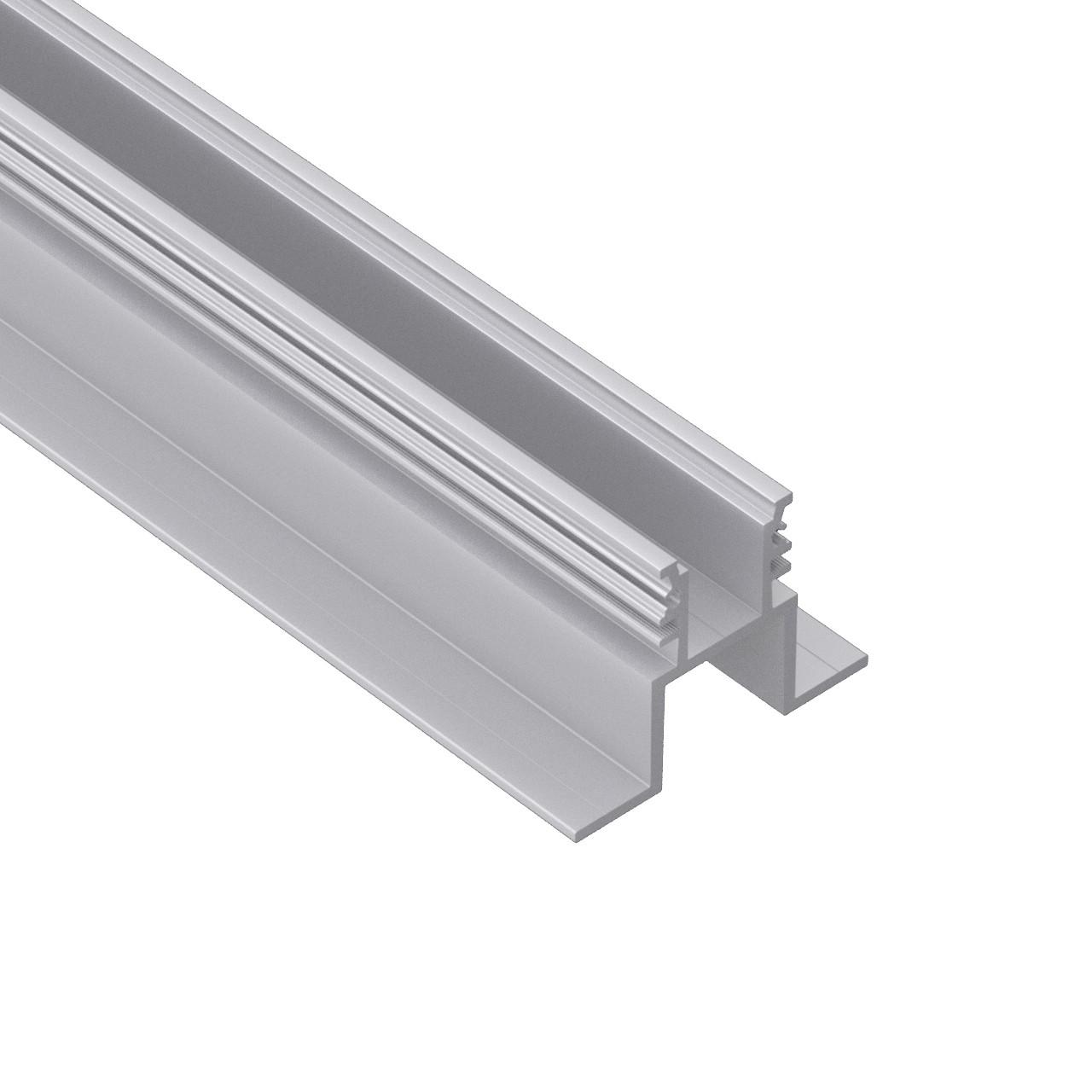 AF3 recesso Inground   aço perfil de alumínio vidro   para a movimentação ao longo 79x65mm