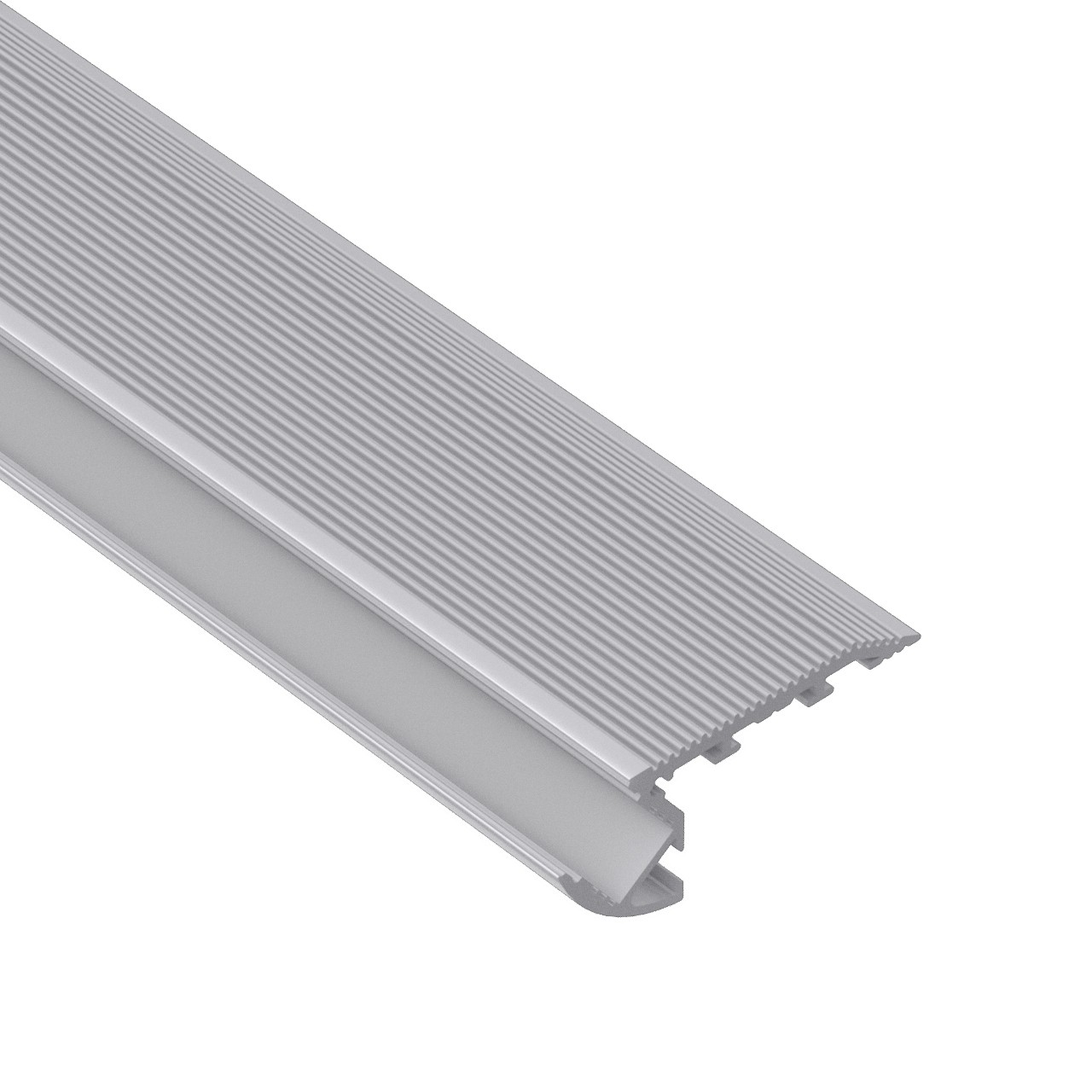 ST1 Stair nosing led profile uplight for led strip 67.5x27.8mm