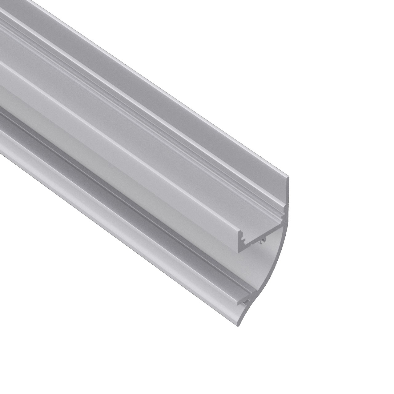 17.5x40mm AW8 Overflade vægbeslag Aluminium LED Kanal