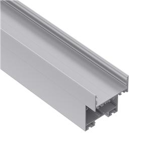 EH80 2-parts designed built-in driver suspended aluminium led profile 80x100mm