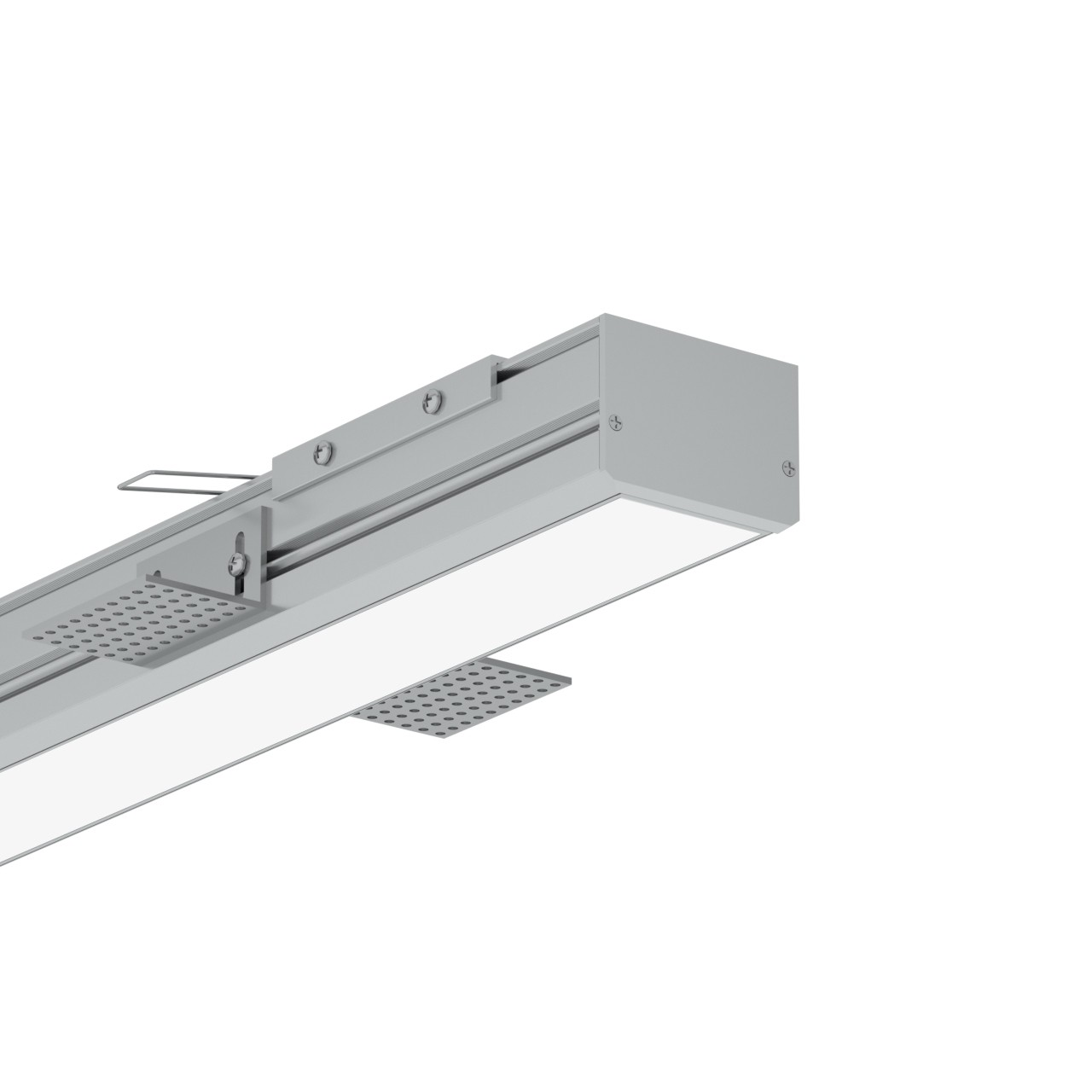 TR50 50mm Trimless førte profil for gips loft 65x48mm