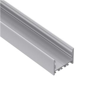 E50 50mm wide surface square led profile 50x37.5mm