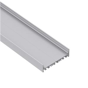E80-22 Slim but wide surface led profile extrusion 80x22mm