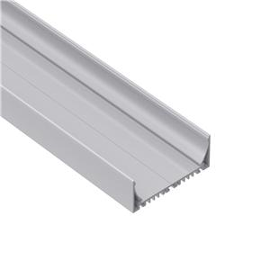 E100 Widest surface square led profile 102x35mm