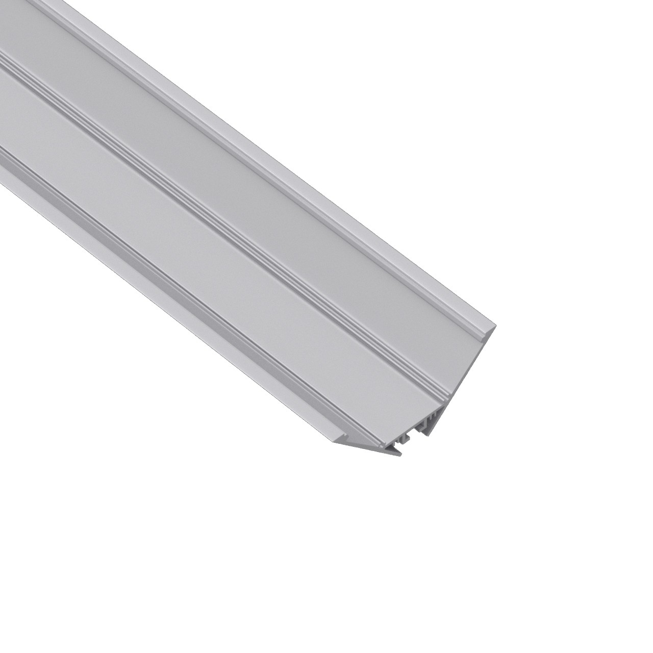 W91 Big corner and suspended lighting profile 90x37.5mm