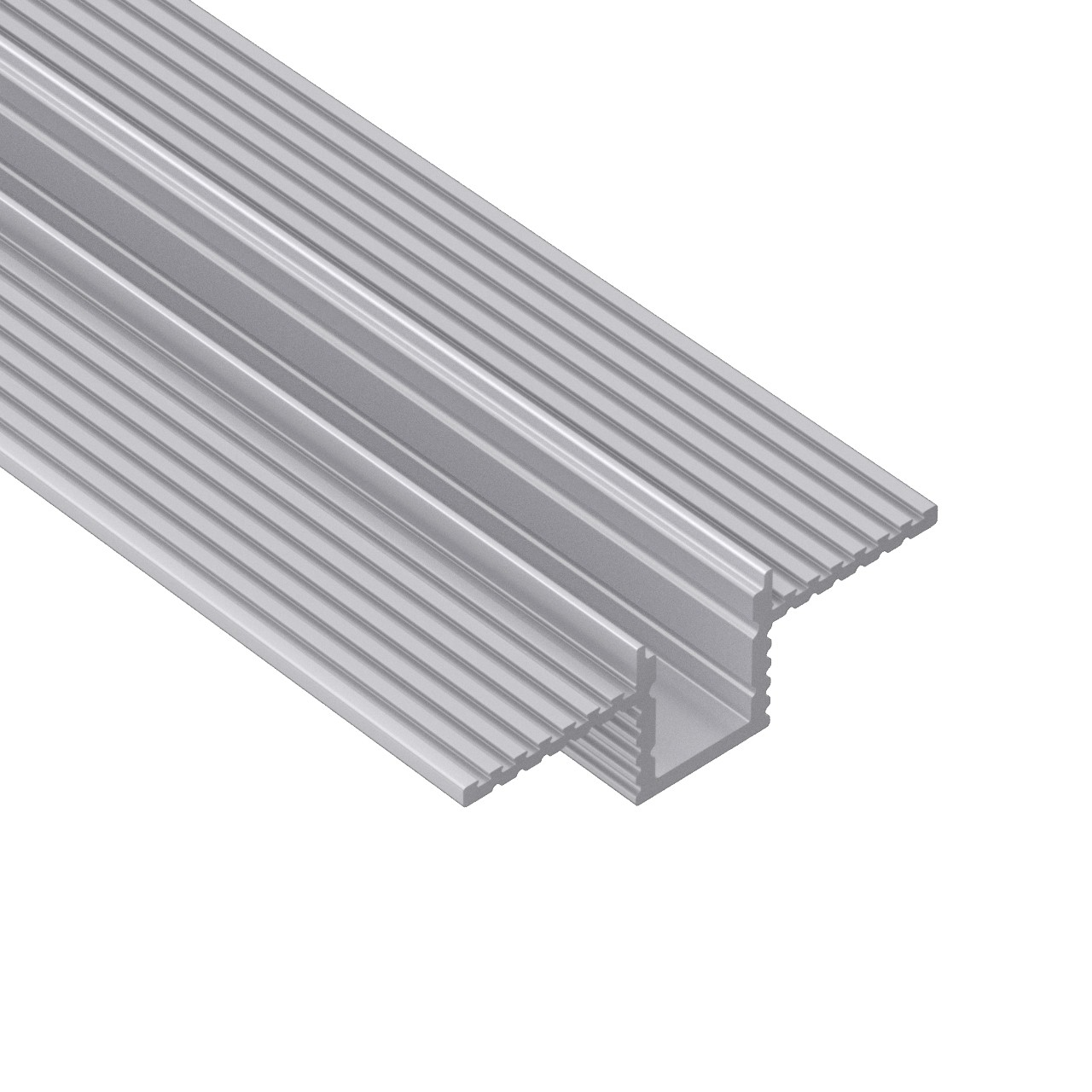 CT9 trimless extrusiones de aluminio para empotrar en paredes y techos de cartón-yeso 28x9mm