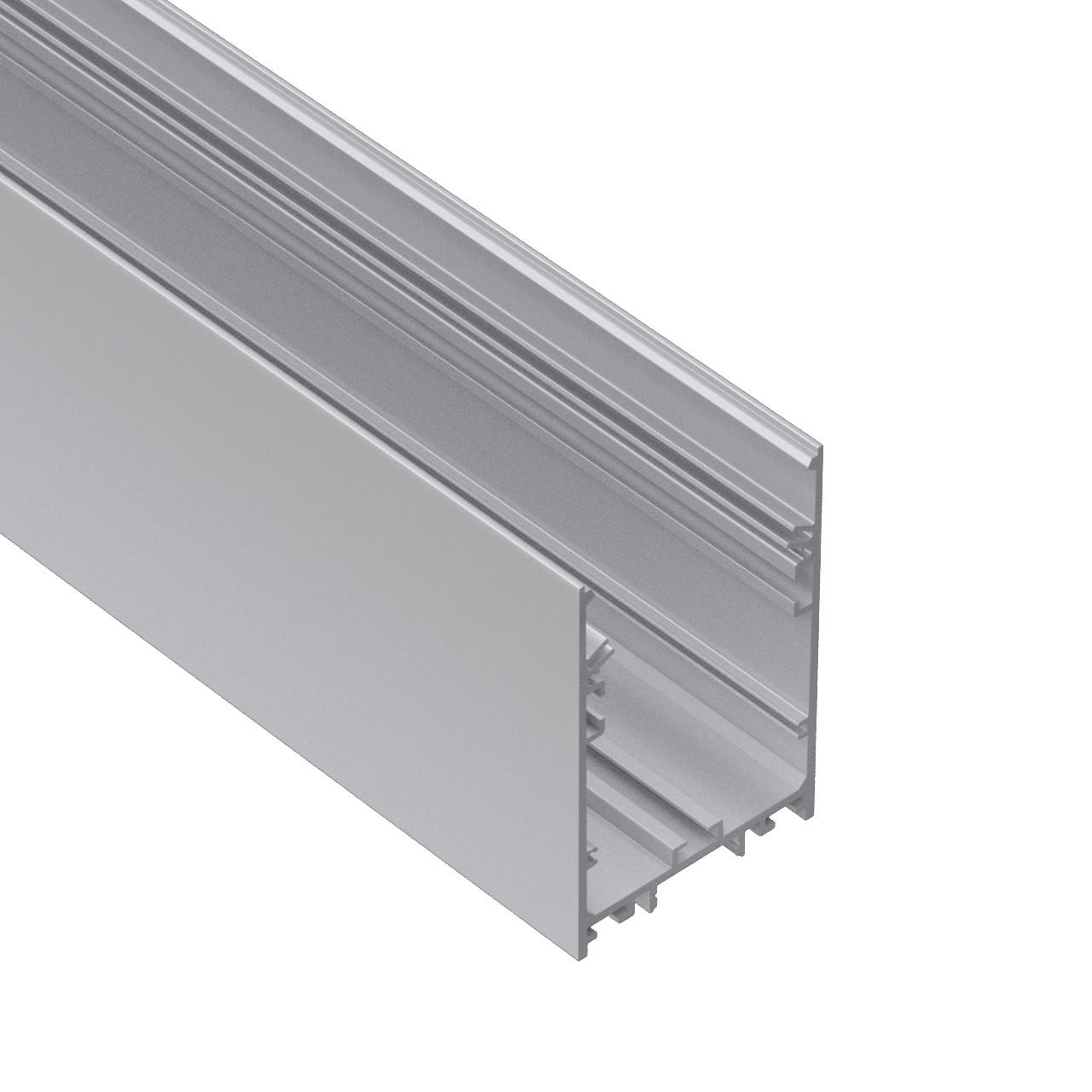 P60 Popular 60 milímetros de largura para cima / baixo suspensa arquitetônico 60x90mm perfil levou