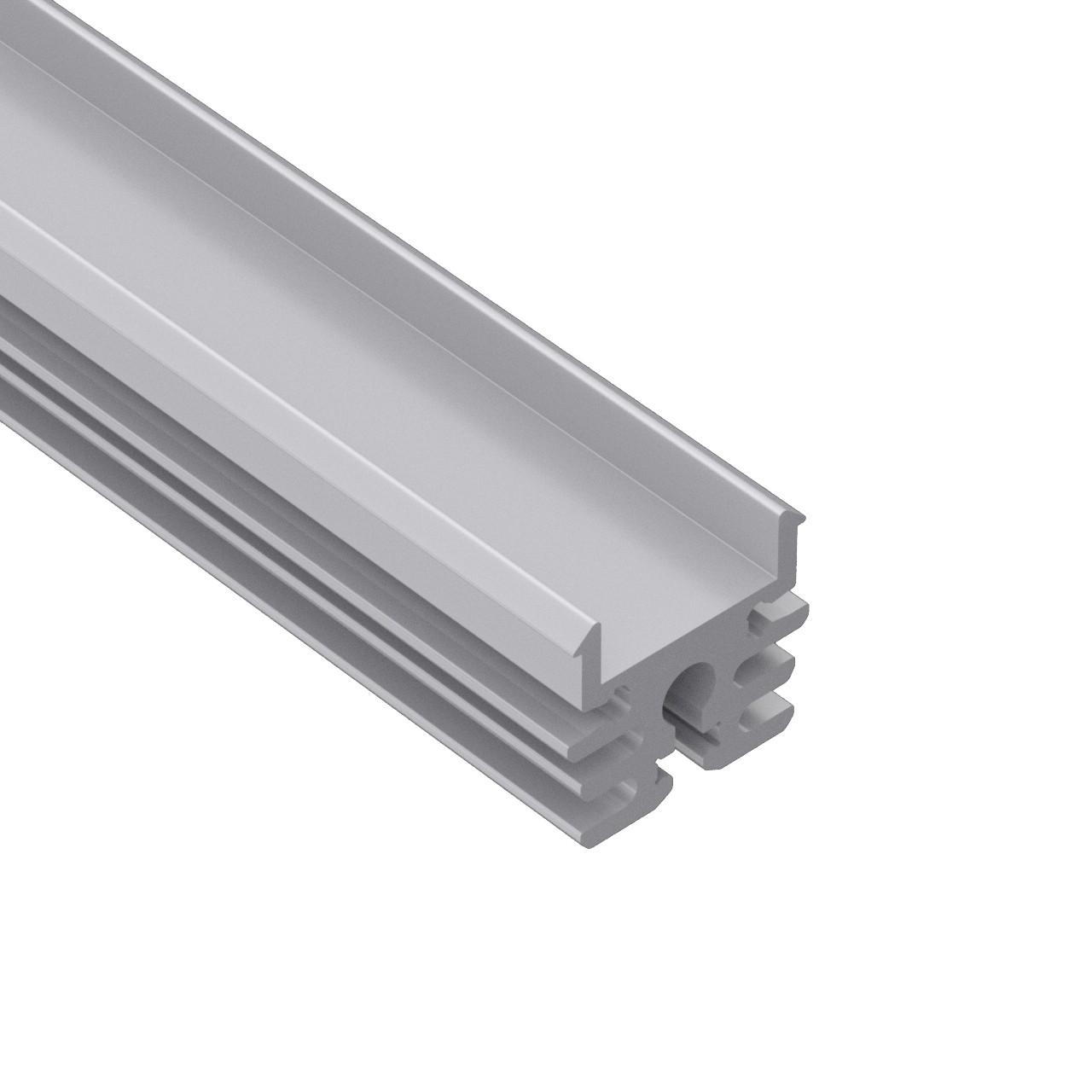 AP4 Surface aluminum led profile 18.7x22mm