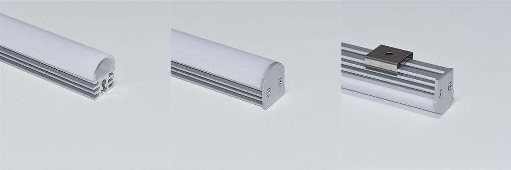 Oberfläche Aluminium-LED-Profil