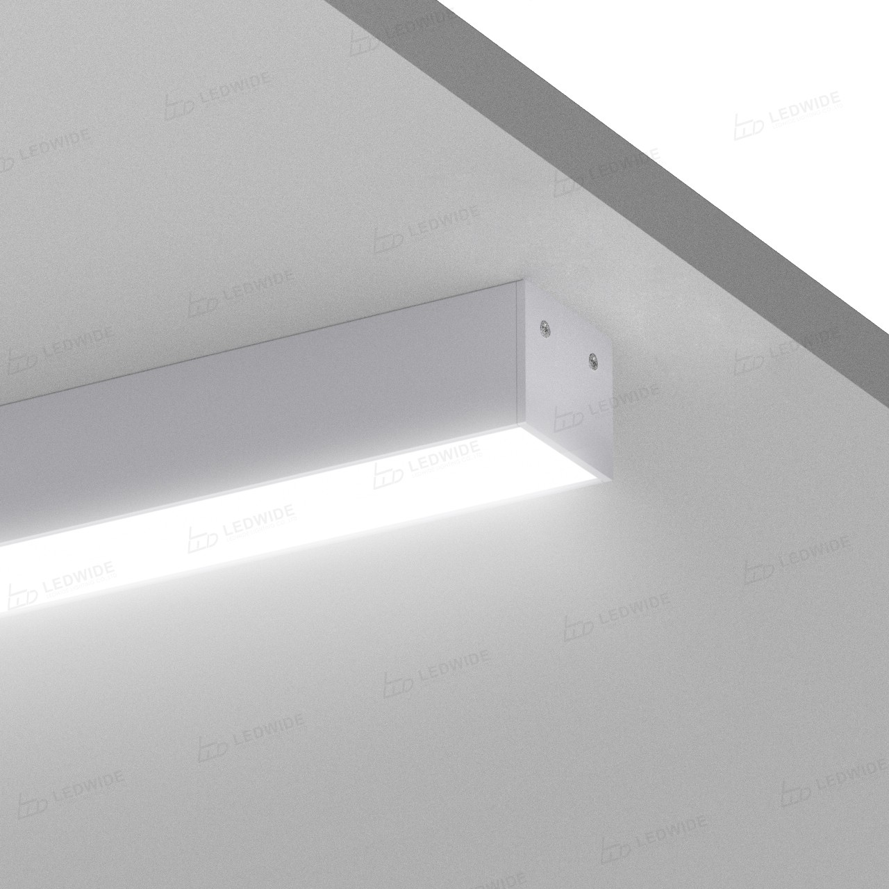 AT16-11 Surface square led profile 19.5x17.35mm Manufacturers, AT16-11 Surface square led profile 19.5x17.35mm Factory, Supply AT16-11 Surface square led profile 19.5x17.35mm