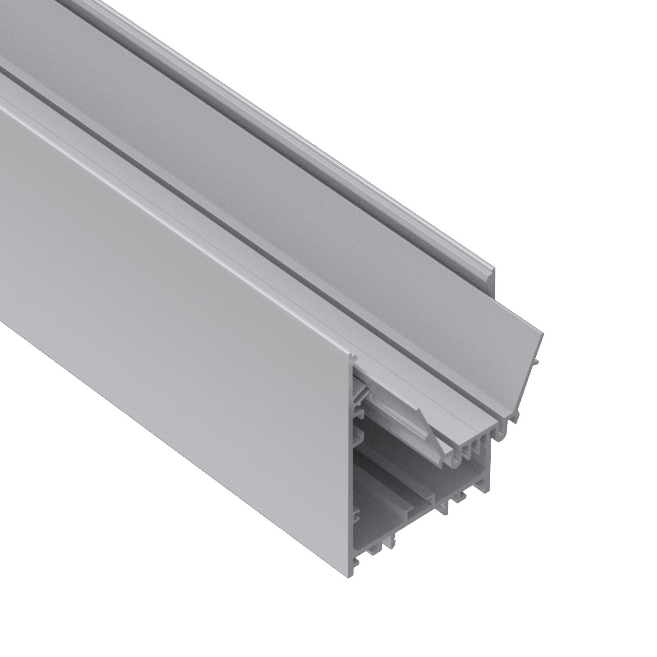P60 populaire 60mm haut / bas suspendu profil architectural conduit 60x90mm