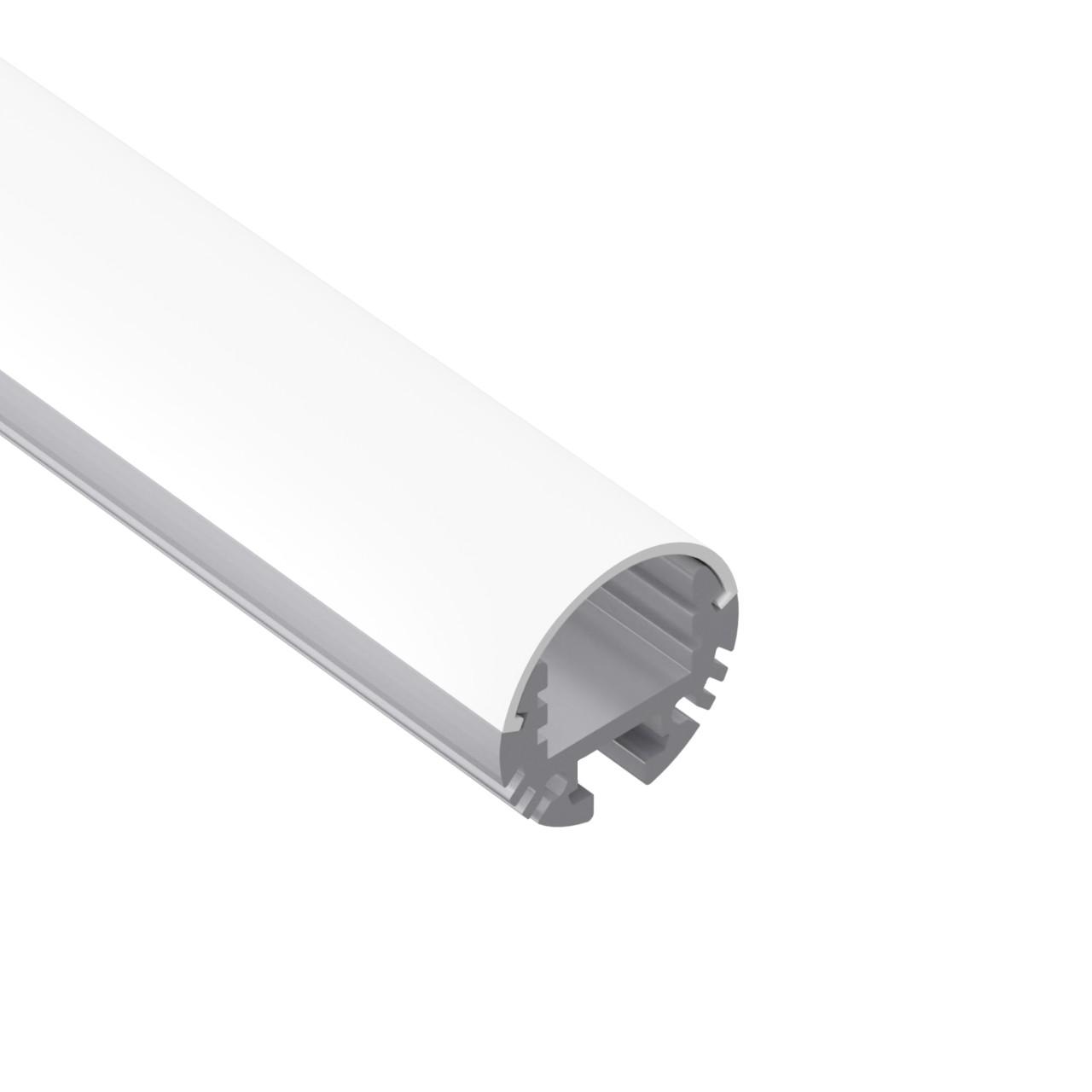 ROUND24 Suspenderet Rund LED profil til LED Strip dia 24mm
