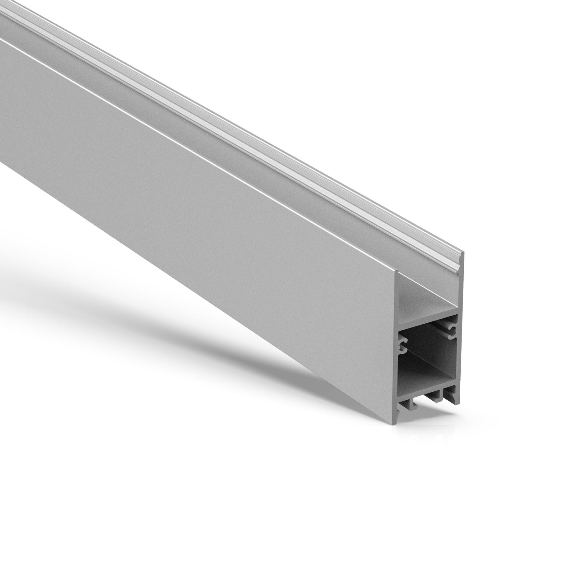 U20 H Form Oberflächenmontage LED Aluminiumprofil 20x40mm