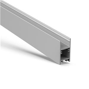 U20 H Shape surface mount led aluminium profile 20x40mm
