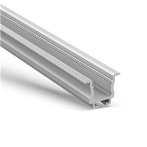 WR2 Væg / loft forsænket ledprofil 23x18,6 mm
