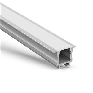 Perfil LED empotrado de pared / techo WR2 23x18.6mm
