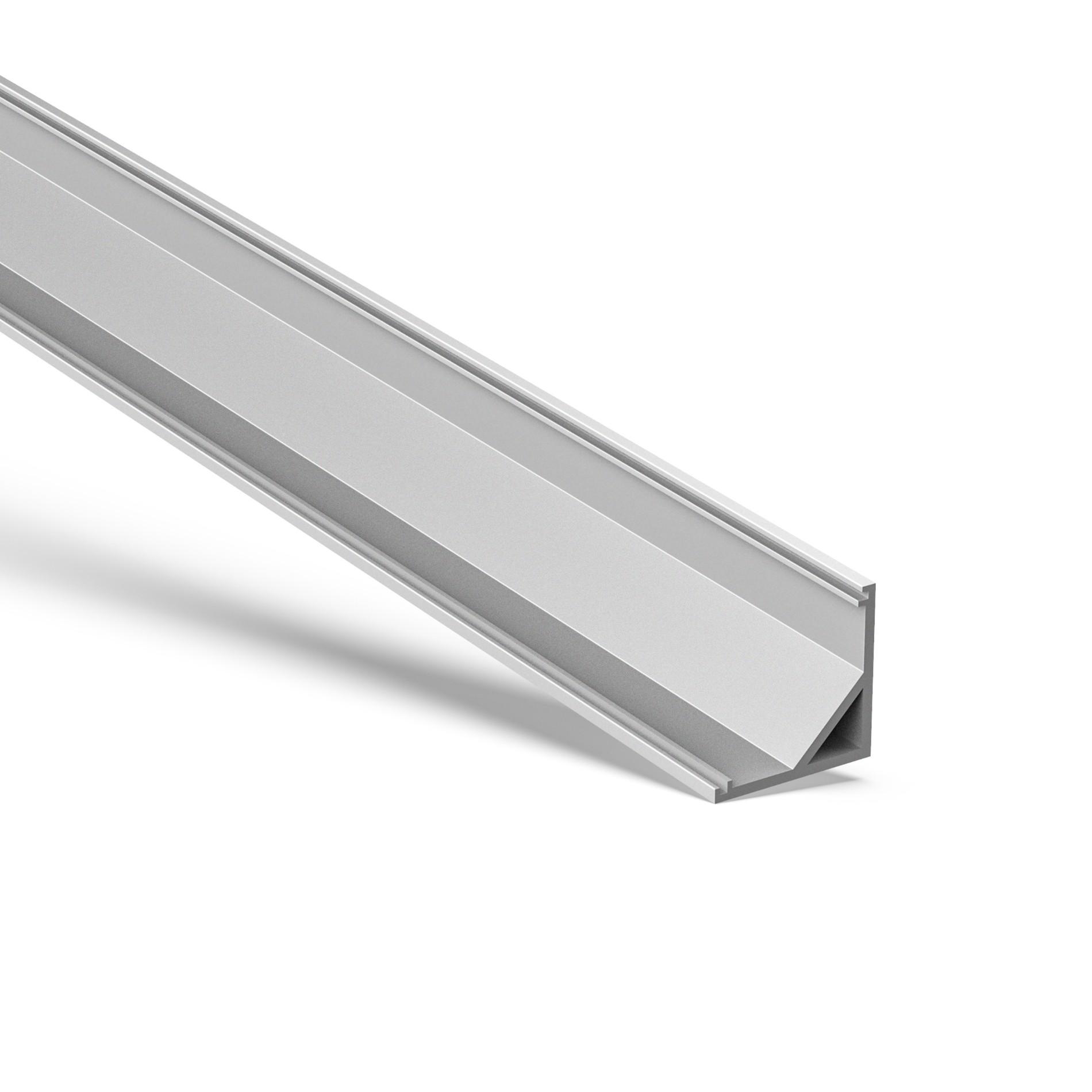 AC2 45˚ Hjørnealuminium LED-profil til LED-strip 16x16mm