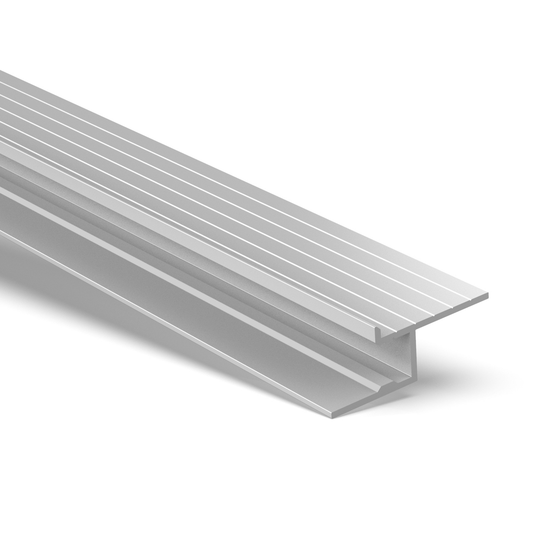 CT8 Trimless Aluminium Extrusions for cove ceilings 42.5x12mm