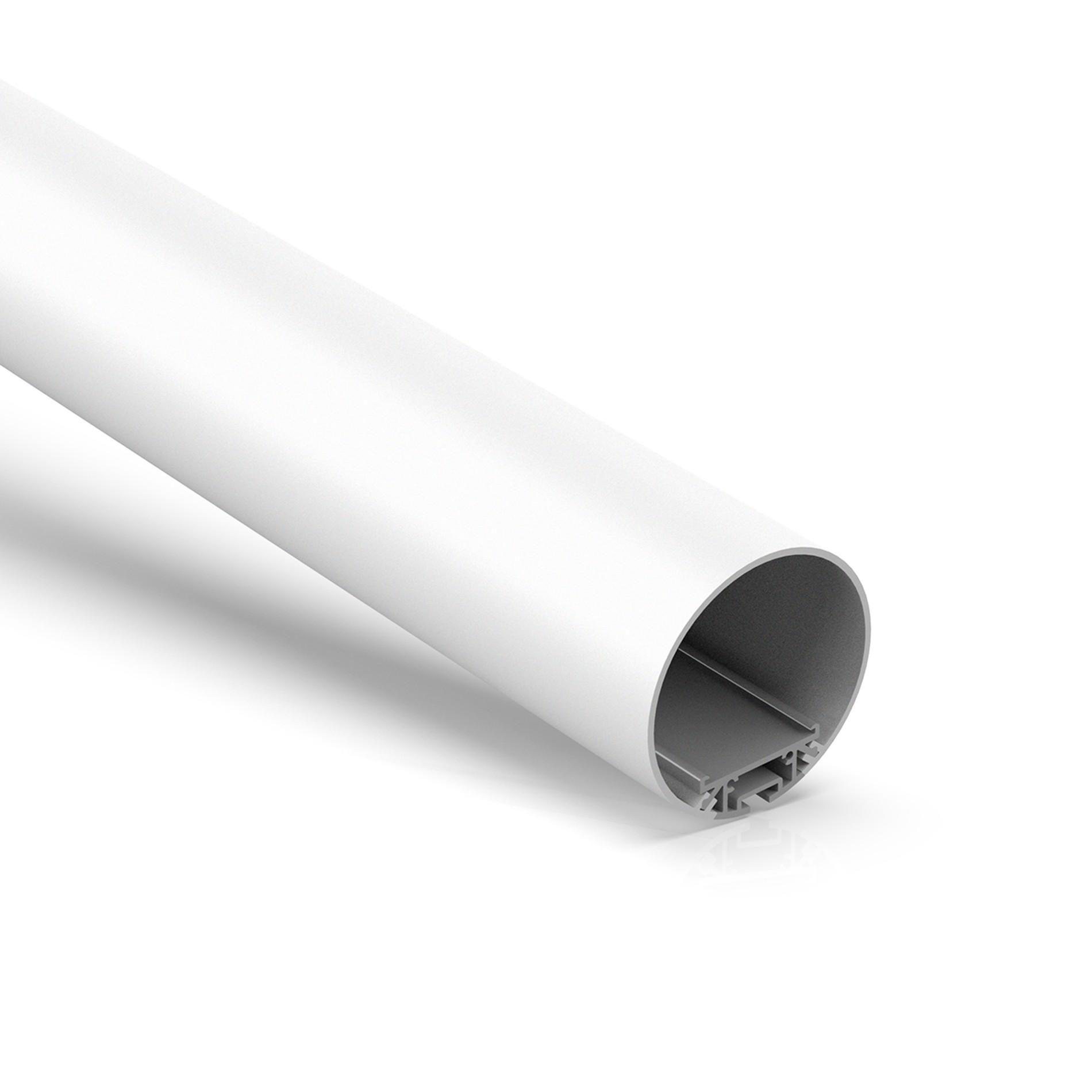 Perfil LED de tubo suspendido R60 para LED Strip dia 60mm