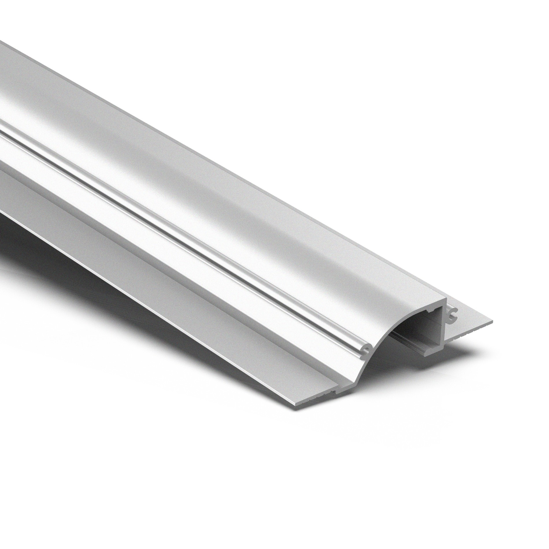 CTW1 Indirect LED Linear recessed trimless ceiling light strip profile 86.5x19.6mm
