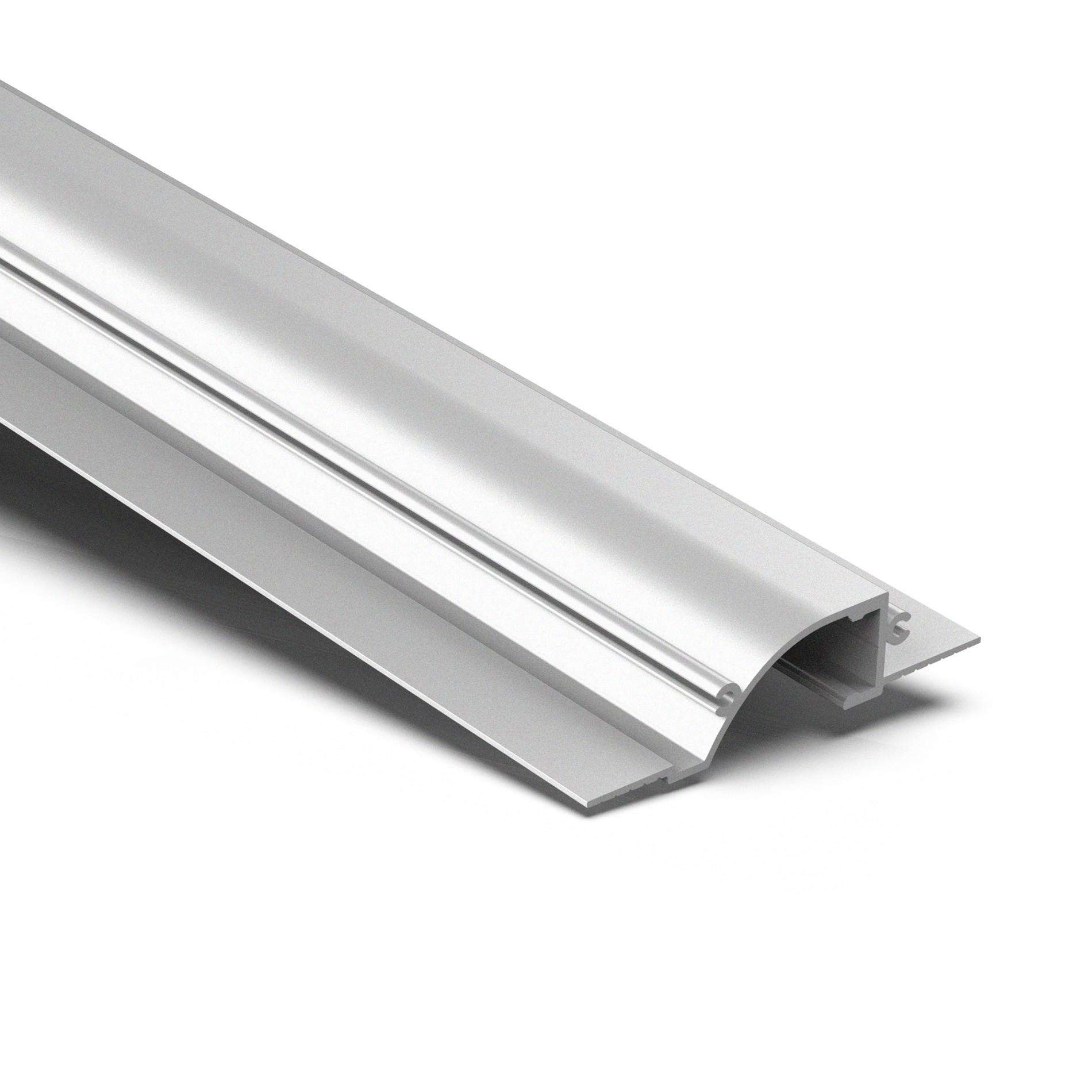 CTW1 Indirekte LED Linear versenkt trimmloses Deckenleuchtenstreifenprofil 86,5 x 19,6 mm