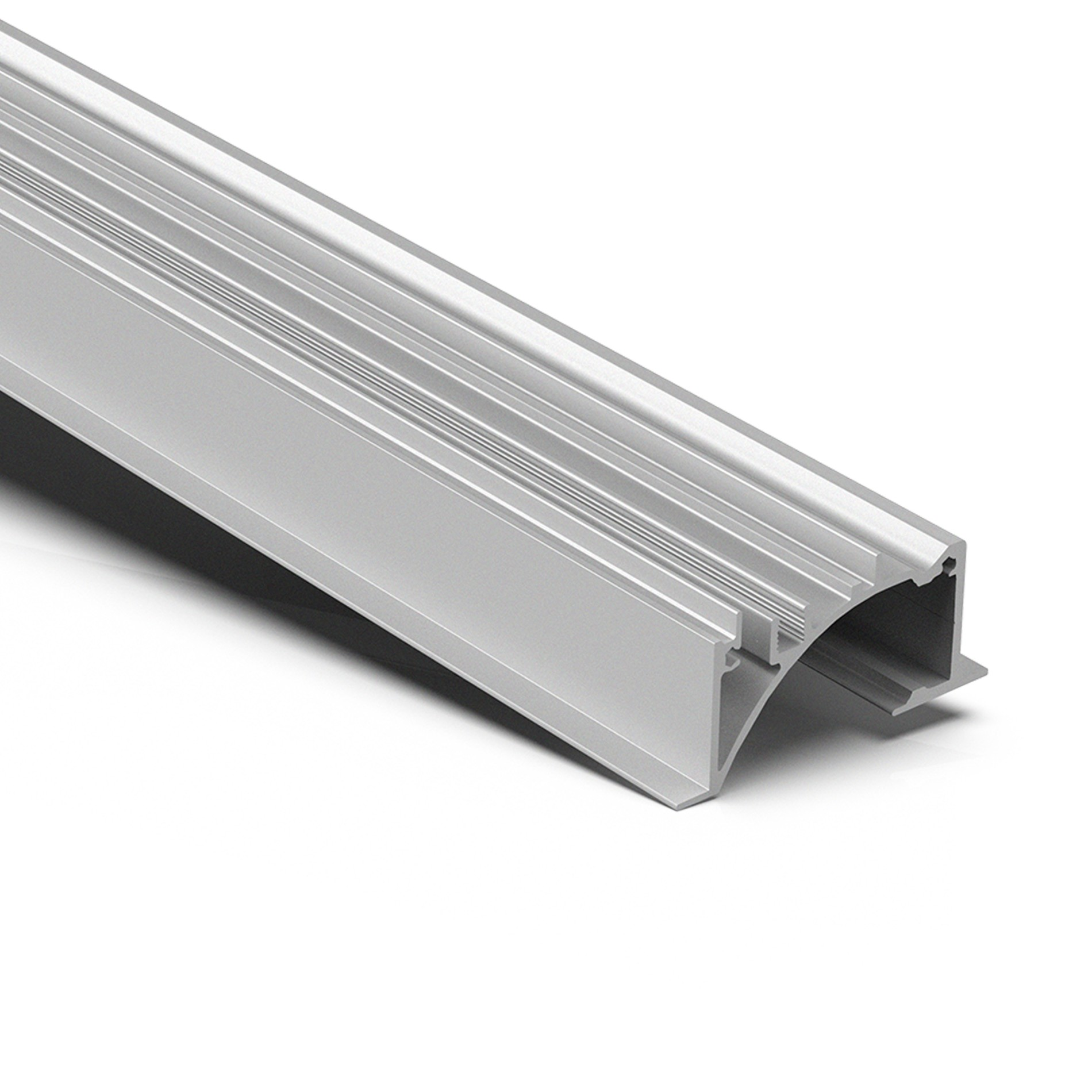 AW1-50 Indirect LED Linear recessed ceiling light strip profile 23.5x50mm