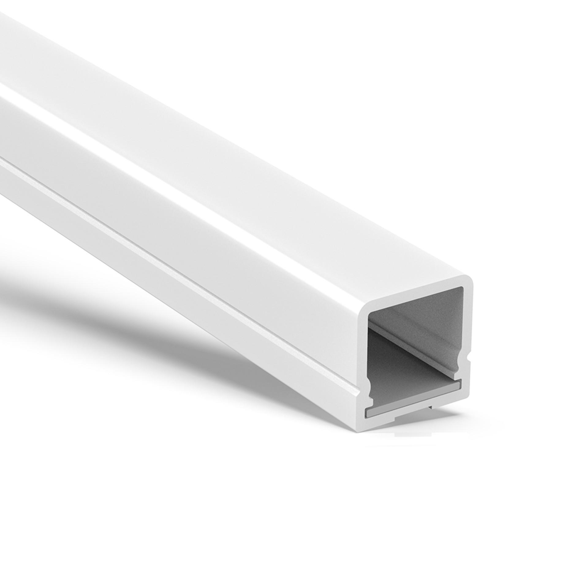 WP2 IP67 rated profile led light 17x17mm