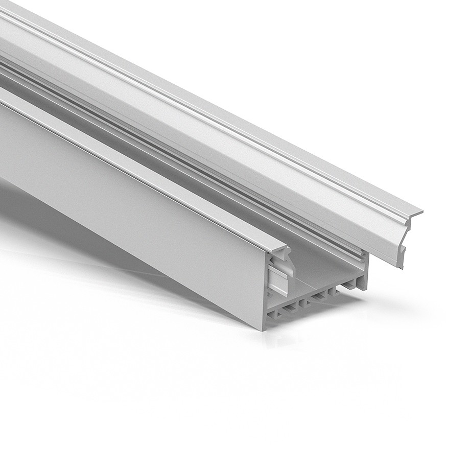 ER60 60mm wide Recessed led extrusion 74x45mm