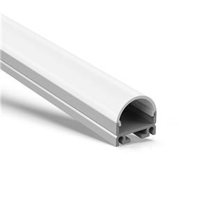 AT4 Surface or suspensded square led strip profile 19.5x18.8mm