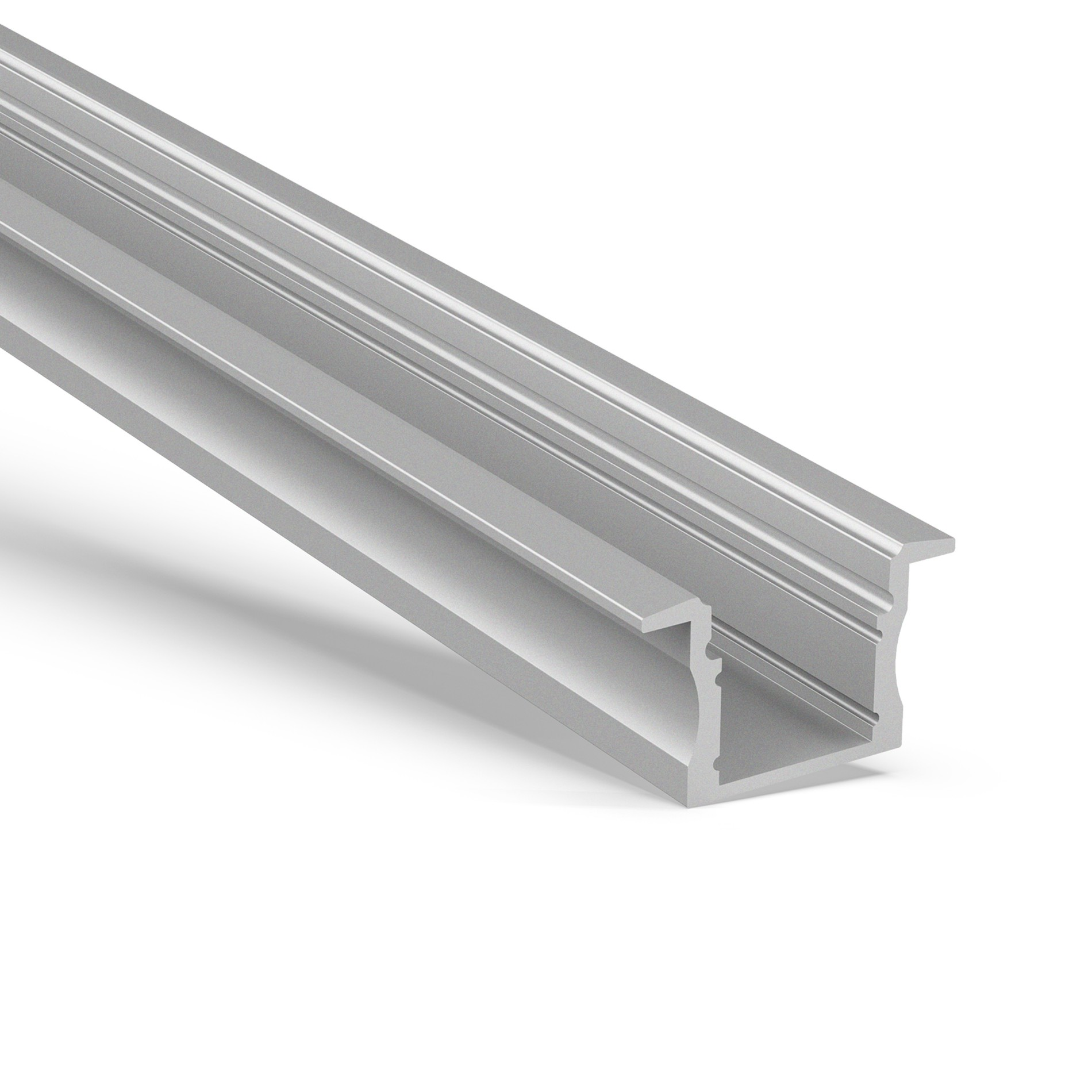 AR2 15mm high Recessed aluminum led profile 23x15.2mm