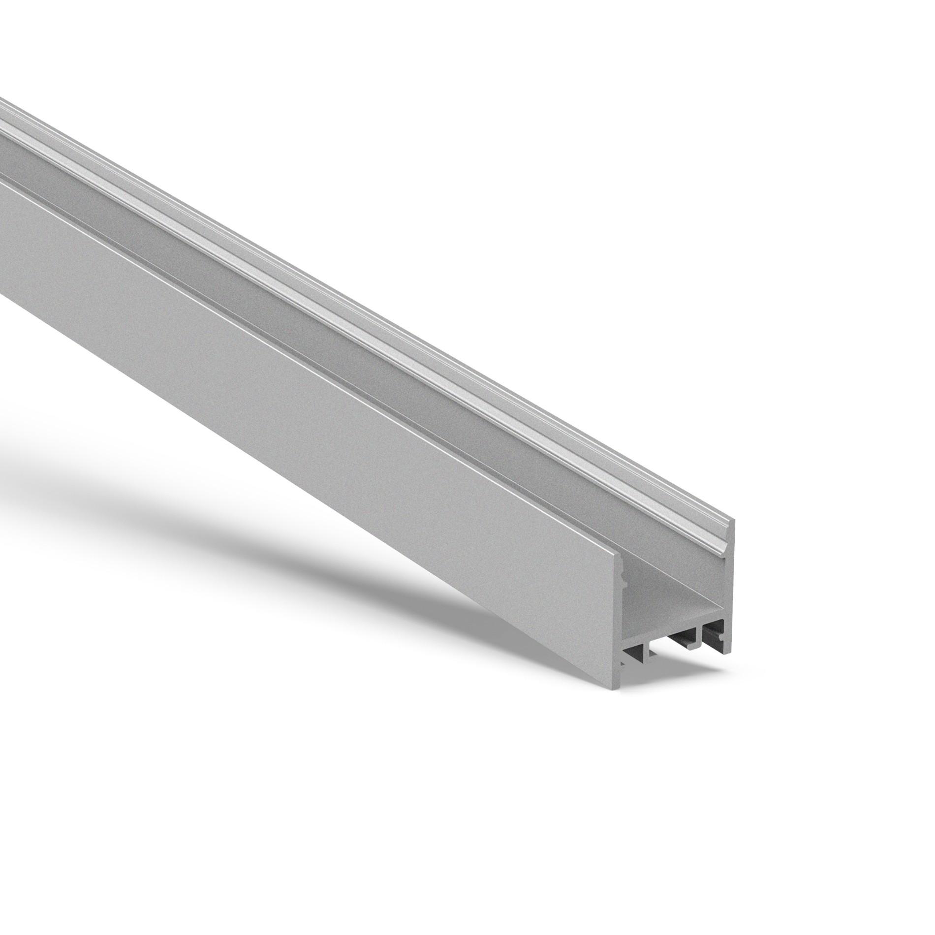 US20 Surface square led profile 20x20mm