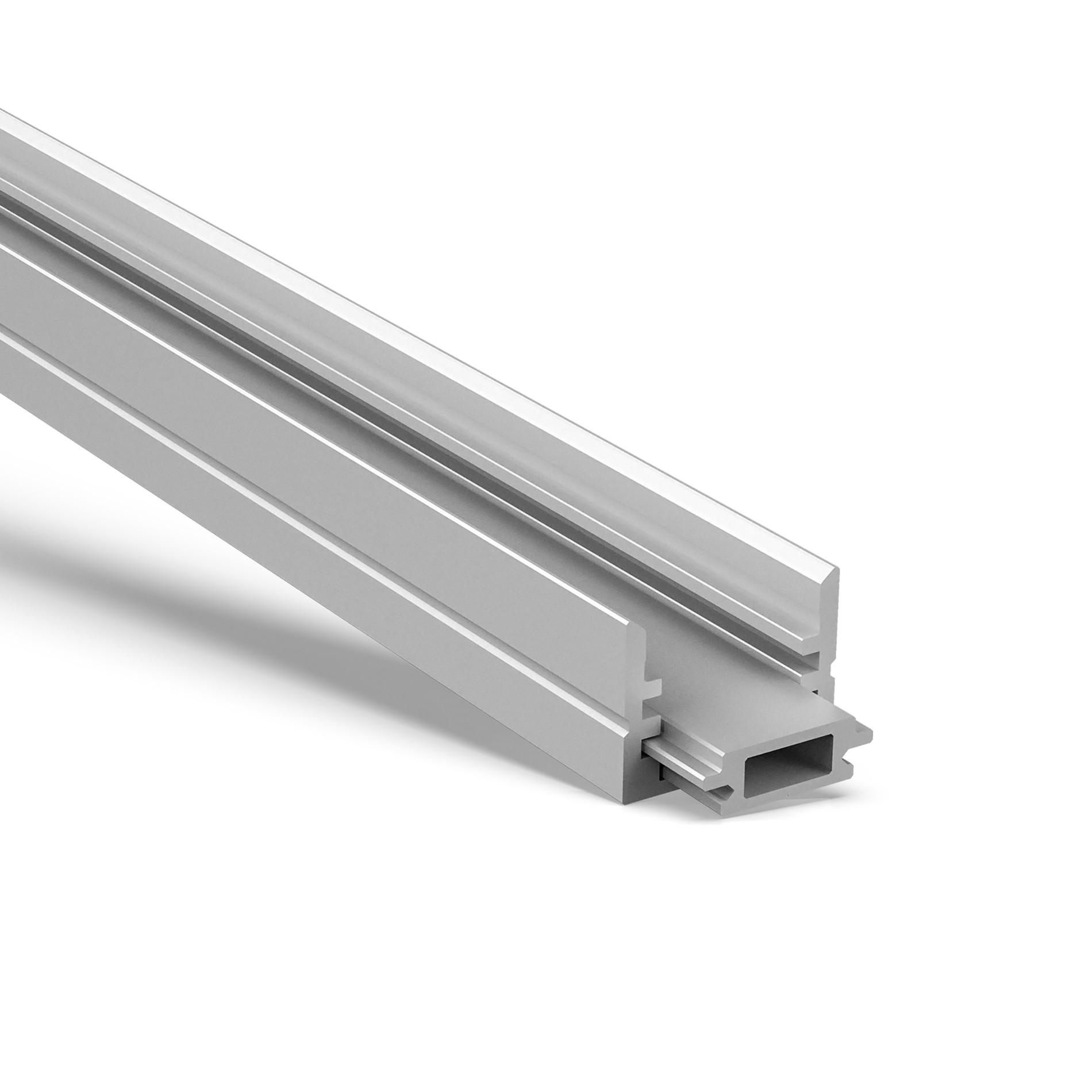 MD Adjustable light angle aluminum profile housing 17x17.8mm