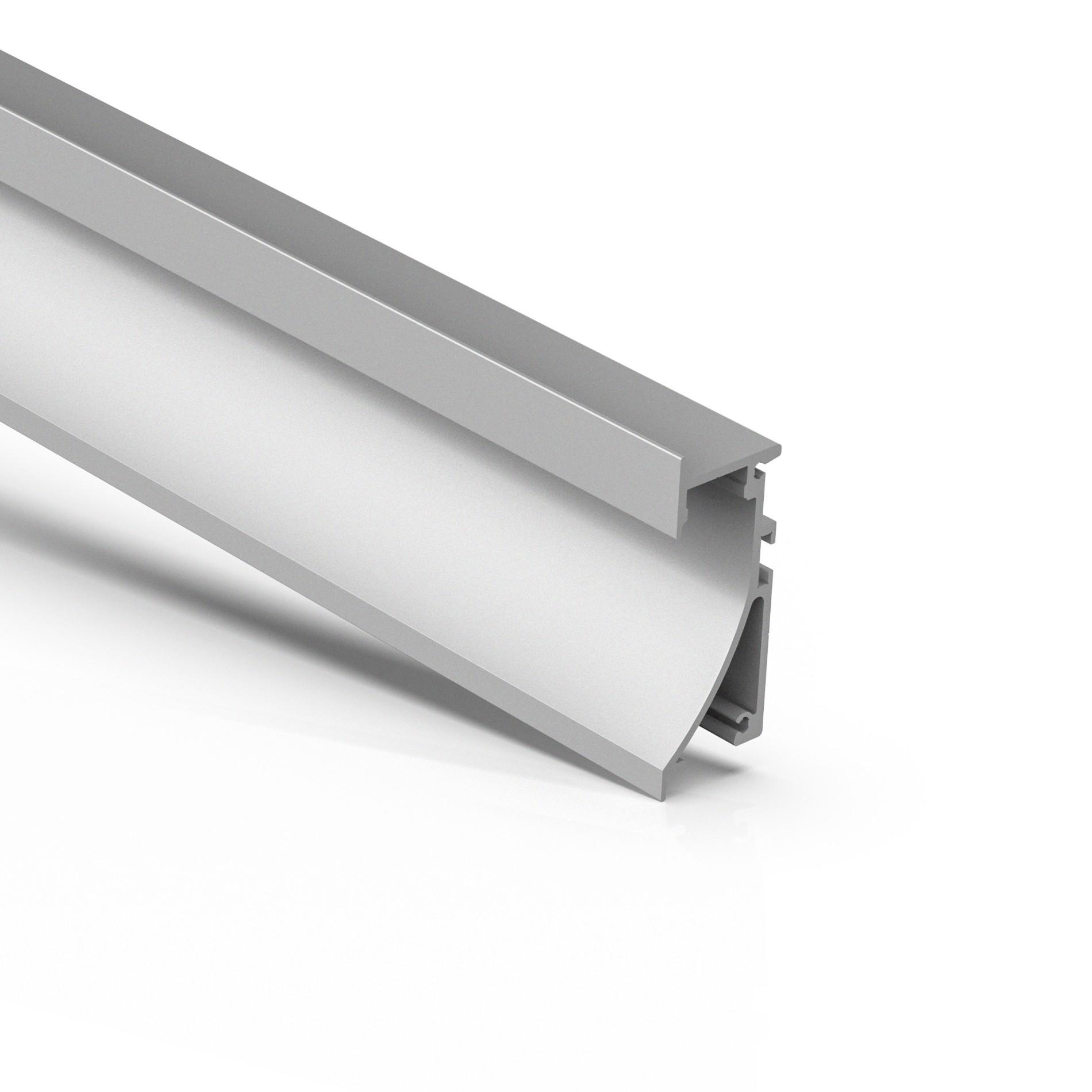 AW1 forsænket mursten-LED-profil (downlight) til LED-strip 25,4x70mm