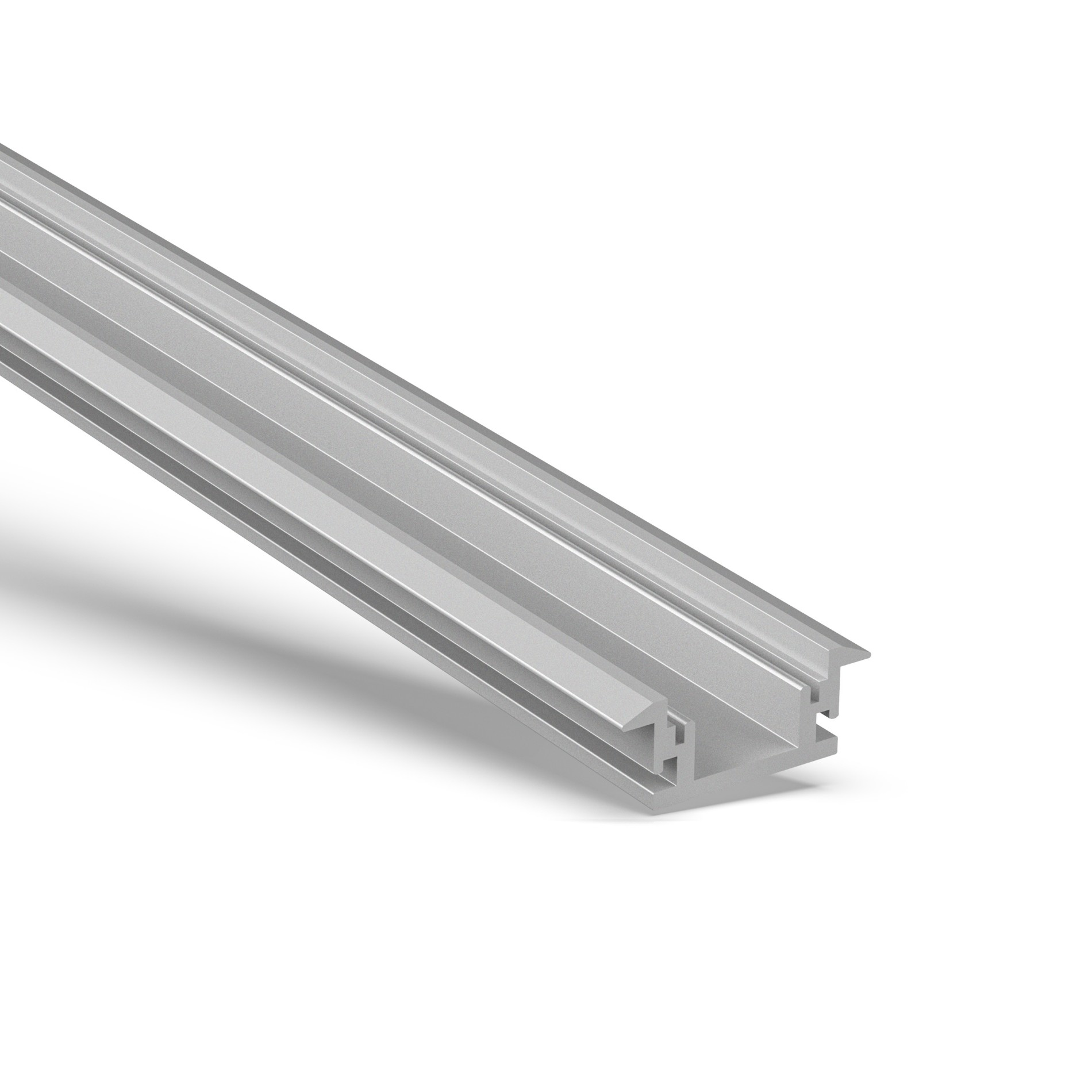 AB IP67 rated floor recessed led mounting profile 28.6x11mm