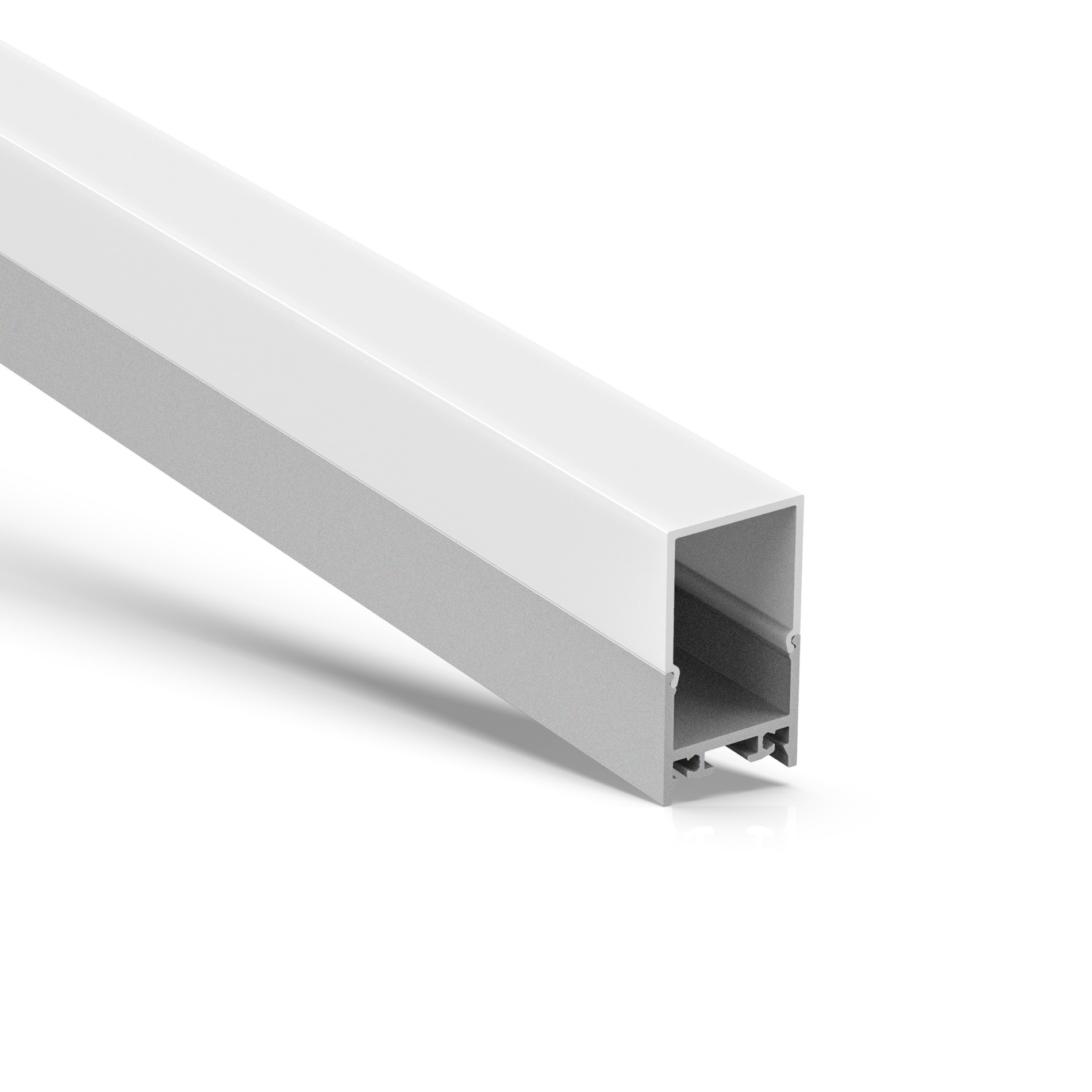 AT16-5H Perfil cuadrado cuadrado de superficie 19.5x35.4mm