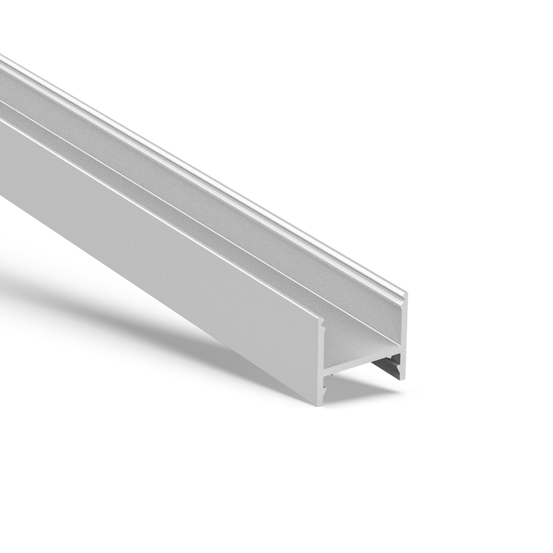 AT16-4 Deeper surface square led profile 19.5x26.2mm